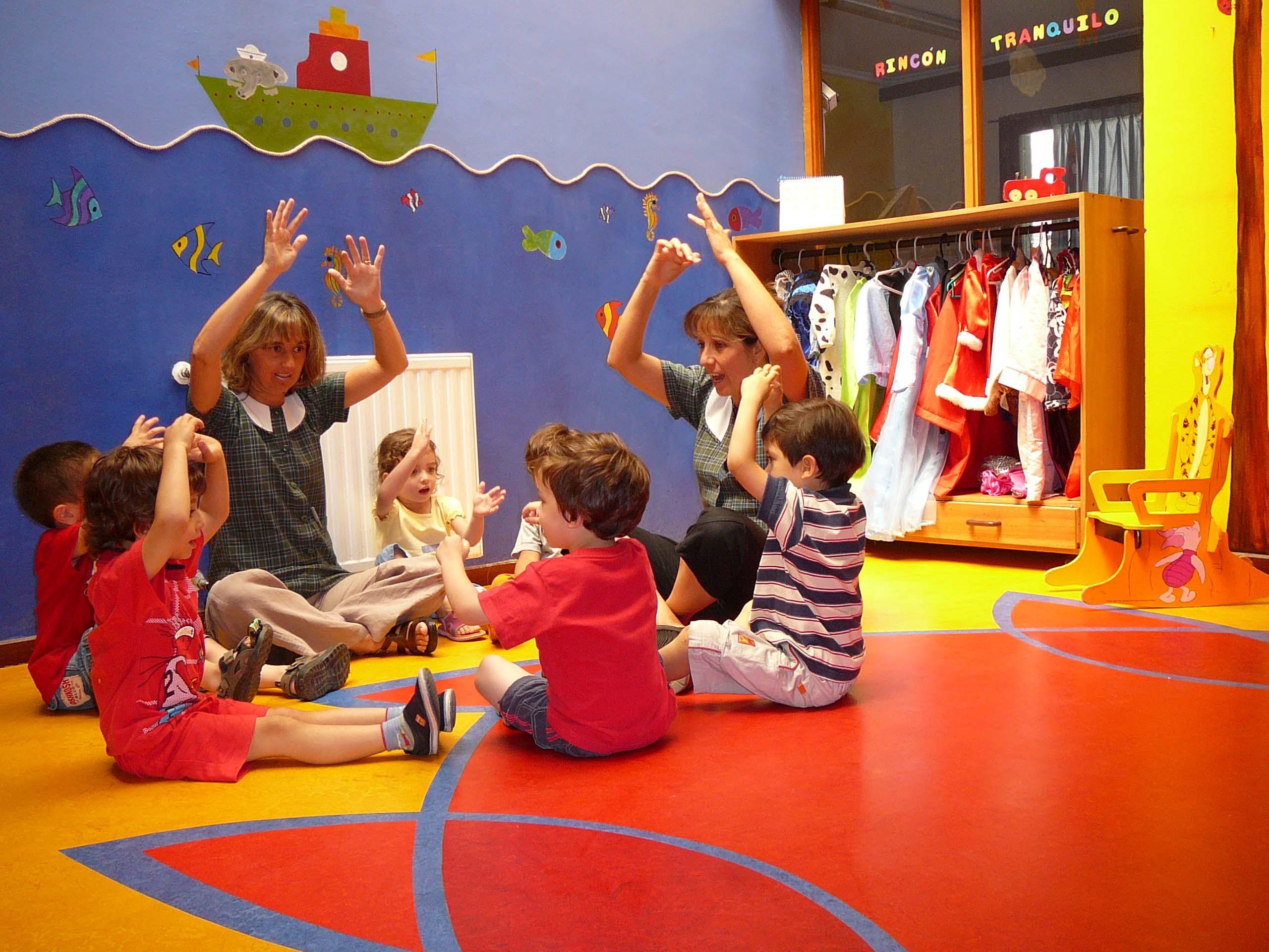 Decoracion para ba o de jardin infantil for Jardin infantil