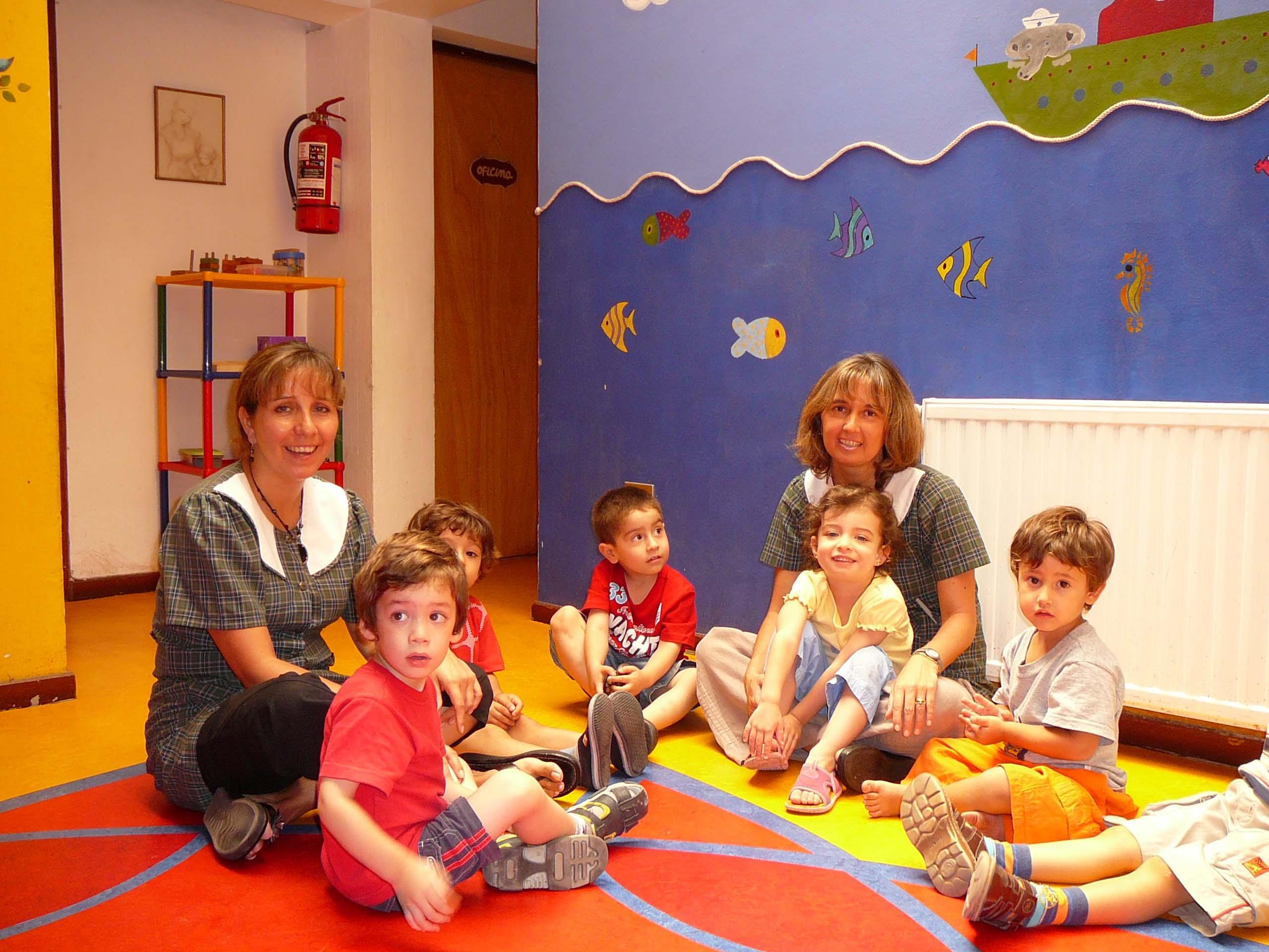 Jardines infantiles for Decoracion verano para jardin infantil